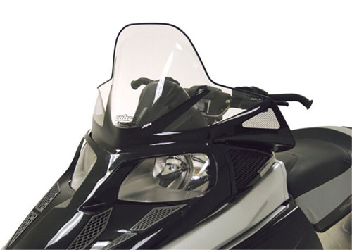 "Arctic Cat F-Series - Tall (16.75"") Clear with Black Graphics"