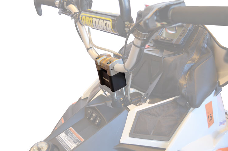PowerMaddPolaris Pro Taper 3 Riser Kit black