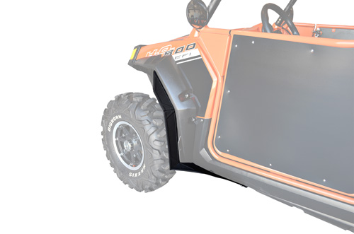 Polaris RZR Fender Flare Extensions - Front ONLY