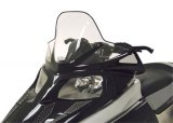 "Arctic Cat F-Series - Tall (16.75"") Clear with Black Graphics - 12930"