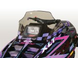 "Polaris Indy, Mid (14.5""), Tint with purple checks - 11131"