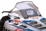 "Polaris Indy, Mid (14.5""), Clear with black & white racing flag graphics - 11132"