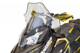 "Ski-Doo Rev XS, Mid (17""), Clear with black fade"