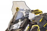 "Ski-Doo Rev XS, Tall (19""), Clear with black fade"