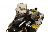 "Ski-Doo Gen4, Mid (20""), Clear w/black graphics - 13630"