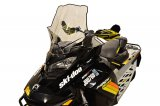 "Ski-Doo Gen4, Tall (22""), Clear w/black graphics - 13640"