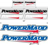 PowerMadd Large decal kit - 89018
