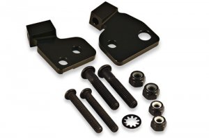 Handguard mount kit for Harley Davidson motorcycles