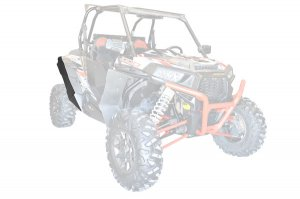 Polaris RZR XP Fender Flare Extensions - Rear ONLY - 62004
